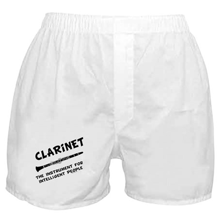 Clarinet Genius Boxer Shorts