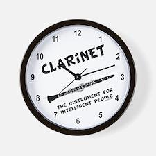 Clarinet Genius Wall Clock