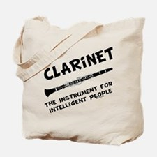Clarinet Genius Tote Bag