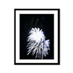 Fireworks Framed Panel Print
