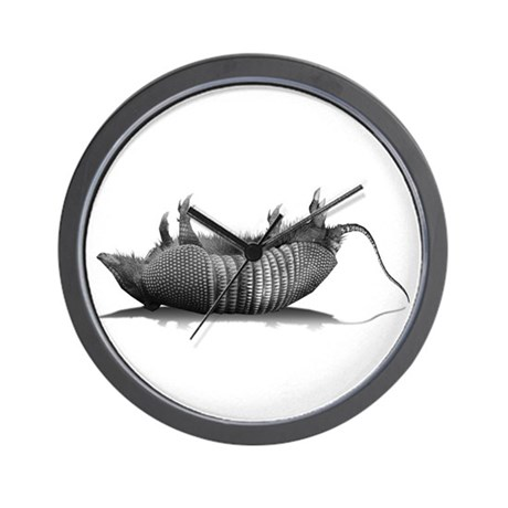 Dead Dillo Wall Clock
