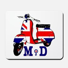 Mods Scooter Mousepad