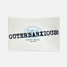OUTERBANXIOUS Rectangle Magnet