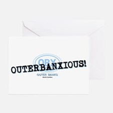 OUTERBANXIOUS Greeting Cards (Pk of 20)