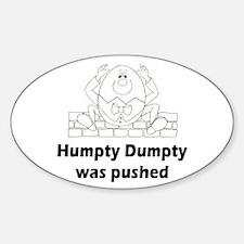 Humpty Dumpty Oval Decal