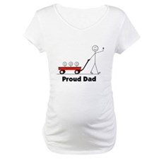 Proud Dad 3 kids Shirt