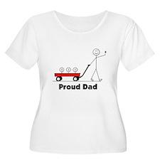 Proud Dad 3 kids T-Shirt