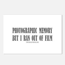 Memory Film Postcards (Package of 8)