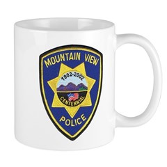 Mountain View Police Mug