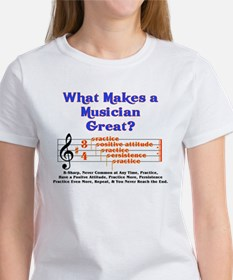 What Makes a Great Musician? Tee