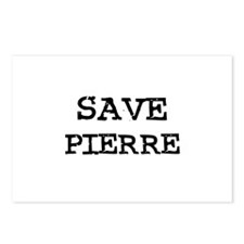 Save Pierre Postcards (Package of 8)