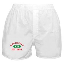 North Pole Toy Dept. Boxer Shorts