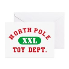 North Pole Toy Dept. Greeting Cards (Pk of 20)