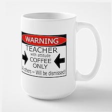 TEACHER #1 Large Mug
