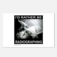 RADIOGRAPHING Postcards (Package of 8)