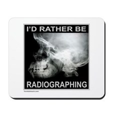 RADIOGRAPHING Mousepad