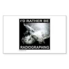 RADIOGRAPHING Rectangle Decal
