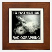 RADIOGRAPHING Framed Tile