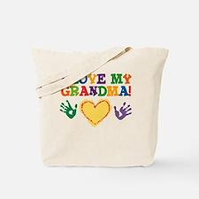I Love My Grandma Tote Bag
