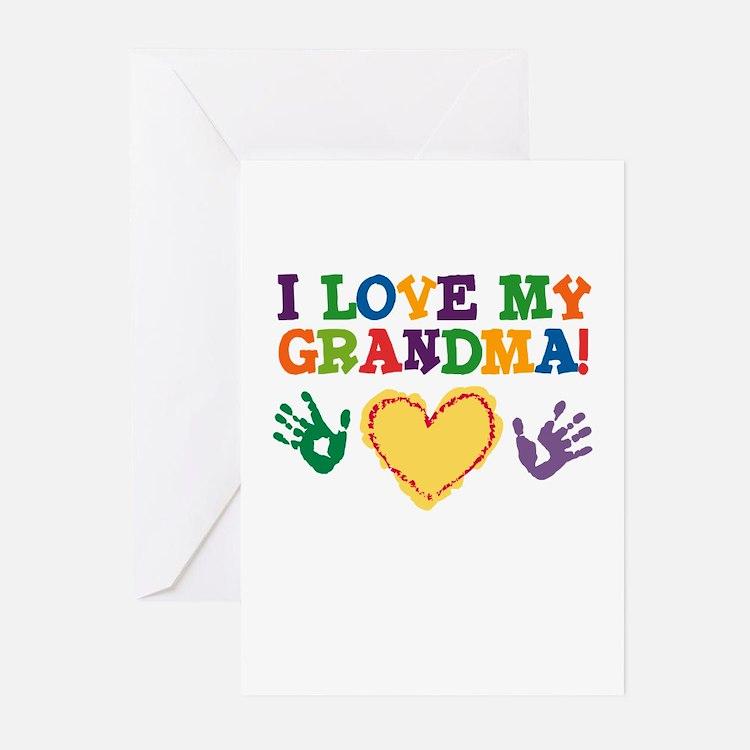I Love My Grandma Greeting Cards (Pk of 10)