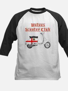 WOLVES SCOOTER CLUB Kids Baseball Jersey