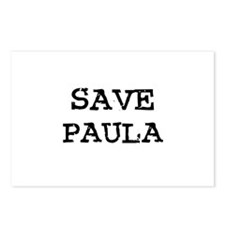 Save Paula Postcards (Package of 8)
