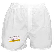 Teacher Pre-k Humor Boxer Shorts