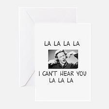 La La La I cant hear... Greeting Cards (Pk of 20)