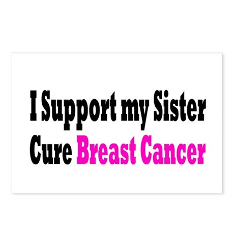 Breast Cancer Postcards (Package of 8)