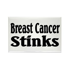 Breast Cancer Rectangle Magnet (10 pack)