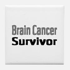Brain Cancer Tile Coaster