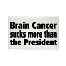 Brain Cancer Rectangle Magnet