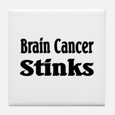 Brain Cancer Tile Coaster