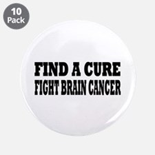 "Brain Cancer 3.5"" Button (10 pack)"