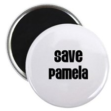 Save Pamela Magnet