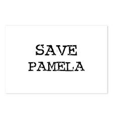 Save Pamela Postcards (Package of 8)