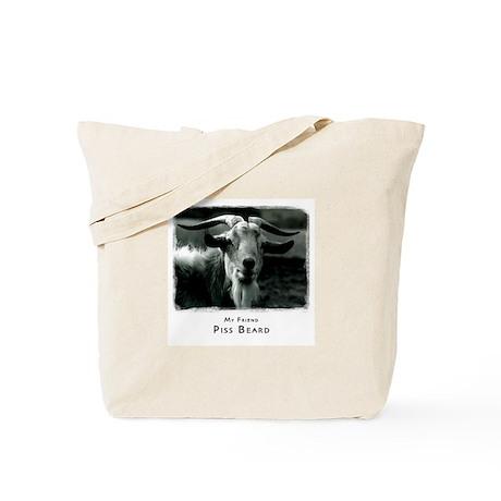 Piss Beard Tote Bag