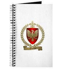 DENIS Family Crest Journal
