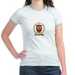 DENIS Family Crest Jr. Ringer T-Shirt