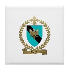 DERY Family Crest Tile Coaster