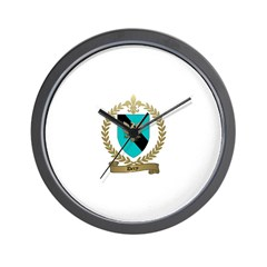 DERY Family Crest Wall Clock