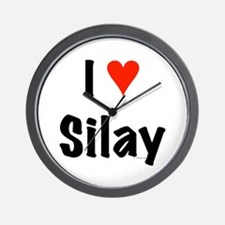 I love Silay Wall Clock