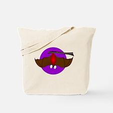 Bat Interrupted Tote Bag