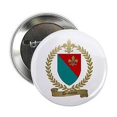 DESBIENS Family Crest Button