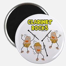"Clarinet Rocks 2.25"" Magnet (100 pack)"
