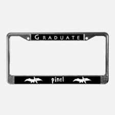 Pinel Logo License Plate Frame