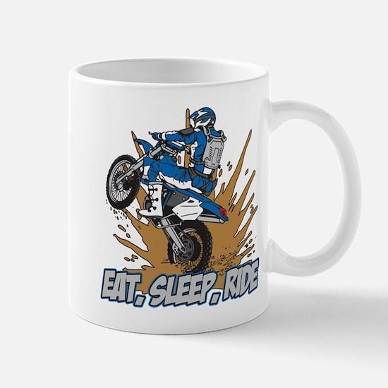 Eat, Sleep, Ride Motocross Mug