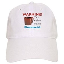 Caffeine Deprived Pharmacist Baseball Cap
