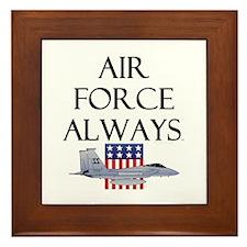 Air Force Always Framed Tile