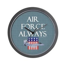 Air Force Always Wall Clock